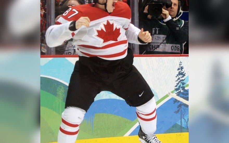 Sidney Crosby triumfuoja