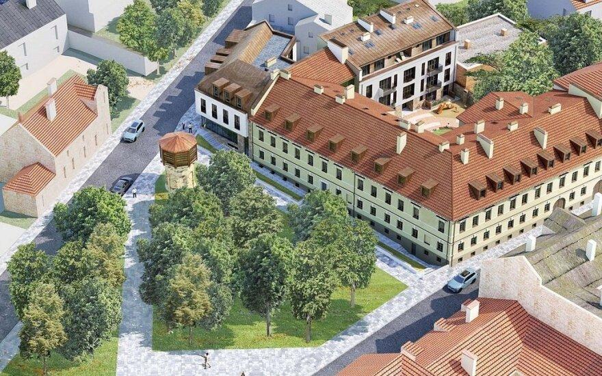 На территории Ужуписа построят новый комплекс шикарных квартир