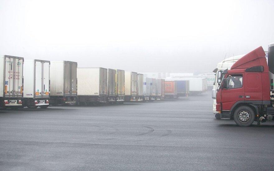 Baltarusijos pasienis - sunkvežimiai