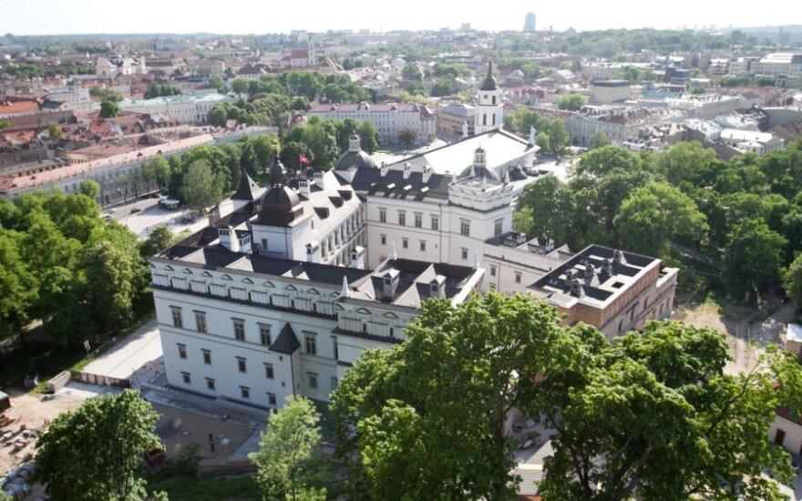 Прокуроры не усмотрели нарушений в восстановлении Великокняжеского дворца в Вильнюсе