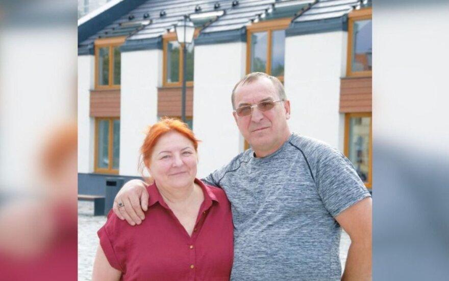 Vasilijus Rysakovas su žmona Jūrate Rysakova / Kotrynos Slobodianikaitės nuotr.