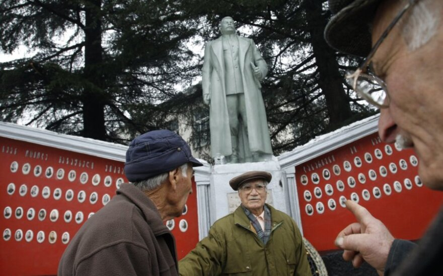 Paminklas Josifui Stalinui Gruzijoje