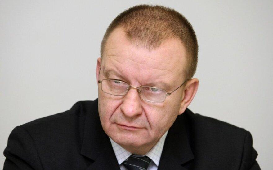 За вождение в нетрезвом состоянии уволен глава Бюро криминальной полиции Литвы