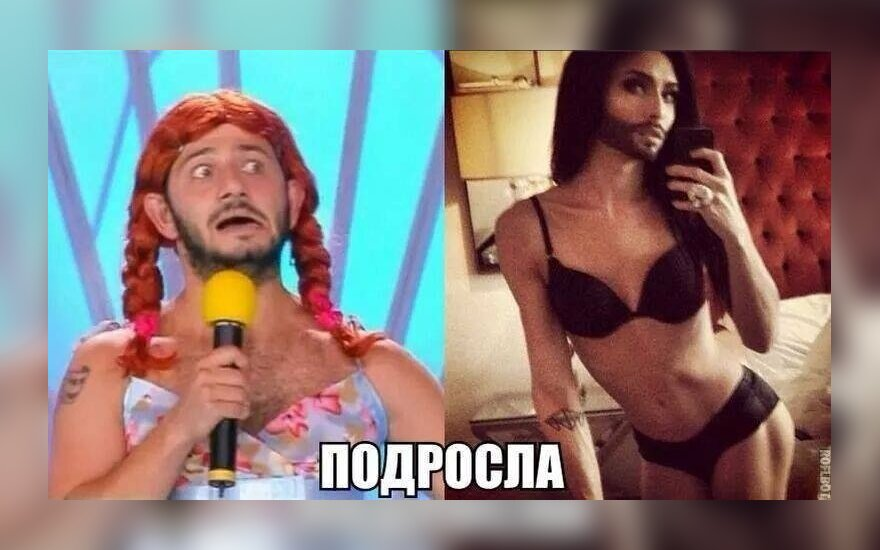 Gałustian vs. Conchita