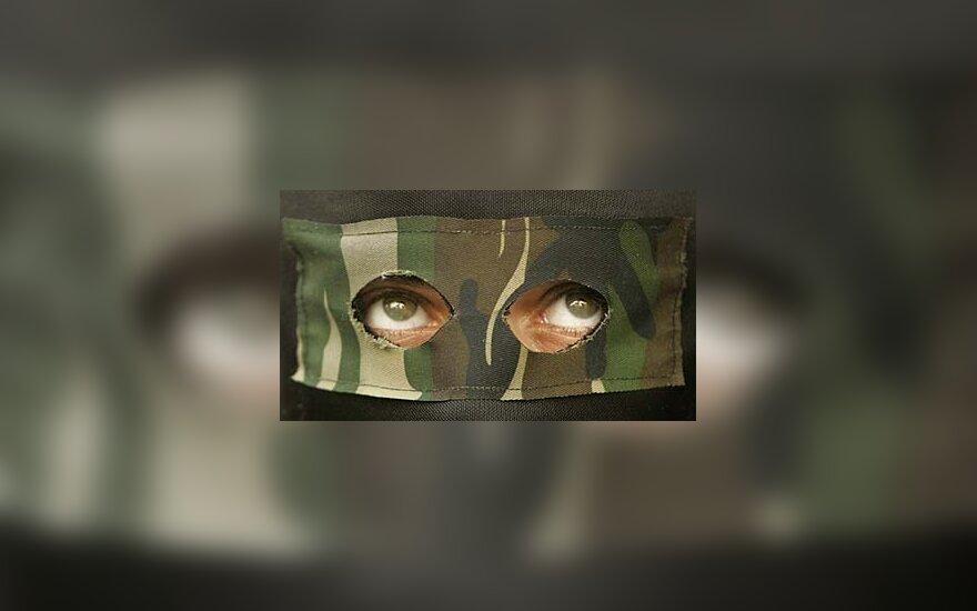 """Radikalaus islamo judėjimo """"Hamas"""" kovotojas"""