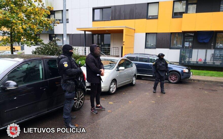 В Вильнюсе средь бела дня члены двух банд устроили драку, очевидцы полицию вызывать не стали