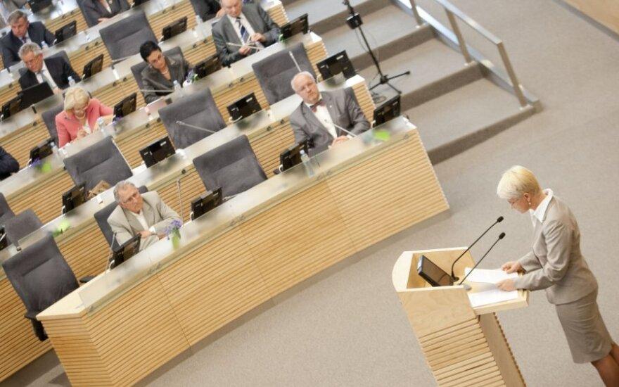 Seime vyksta balsavimas dėl Neringos Venckienės neliečiamybės