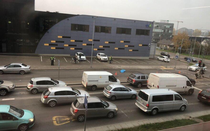 В Вильнюсе насмерть сбит пешеход