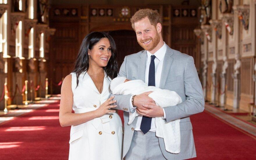 Princas Harry, Meghan Markle ir mažasis Archie