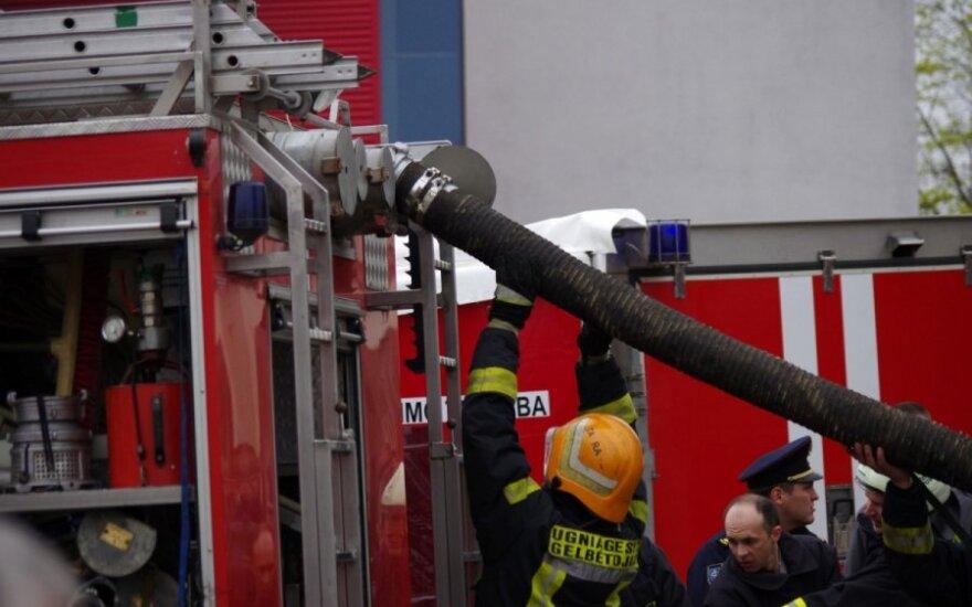 В сгоревшем доме в Вильнюсском районе обнаружен труп
