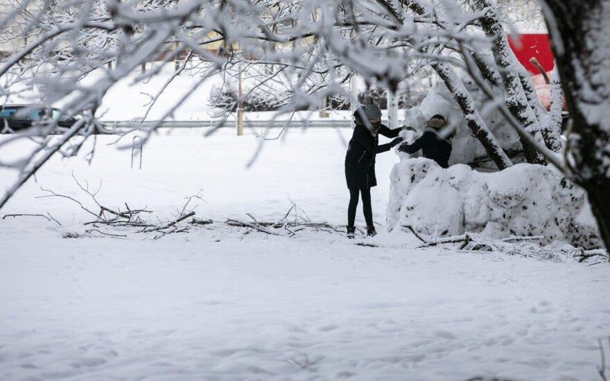 Погода: в Литву возвращается снежная зима