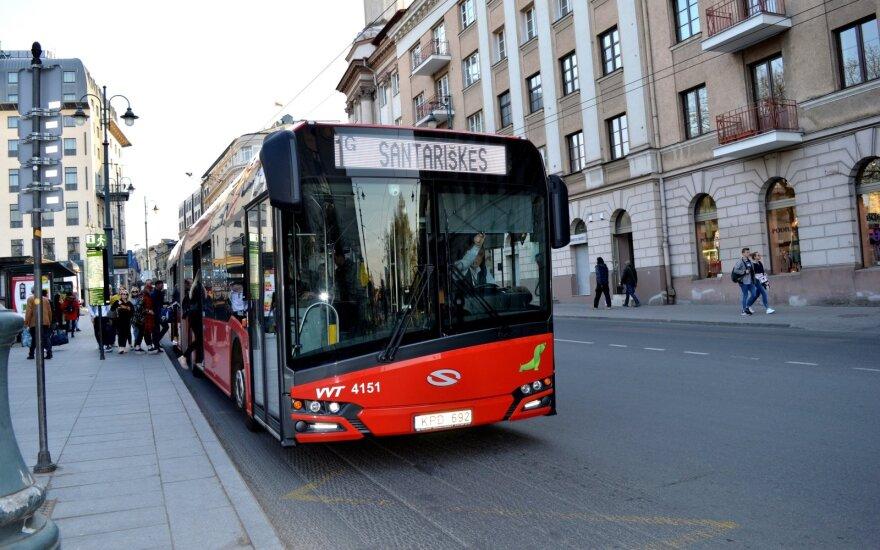 С 1 декабря меняется расписание всего общественного транспорта в Вильнюсе