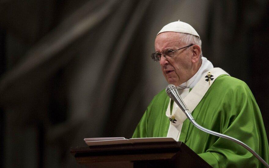 Папа римский Франциск в следующем году посетит Литву