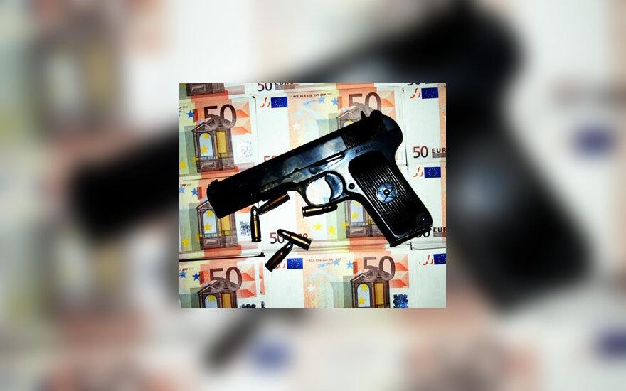 Ginklas, šautuvas, pistoletas, šoviniai