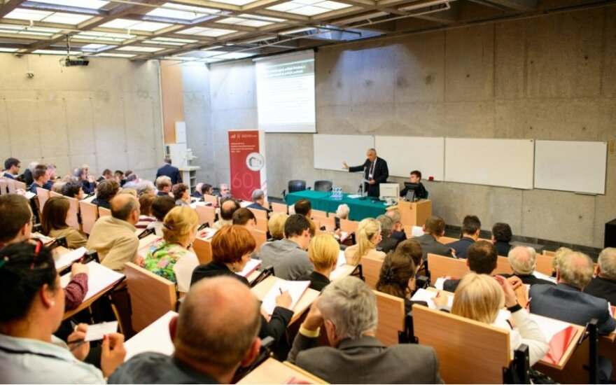 """Audytorium konferencji """"Perspectives of Economic and Monetary Integration in Crisis Time. Where is the Eurozone Heading?"""", 23.09.2013"""