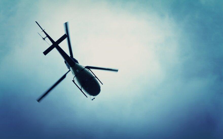 Под Костромой разбился частный вертолет: три человека погибли