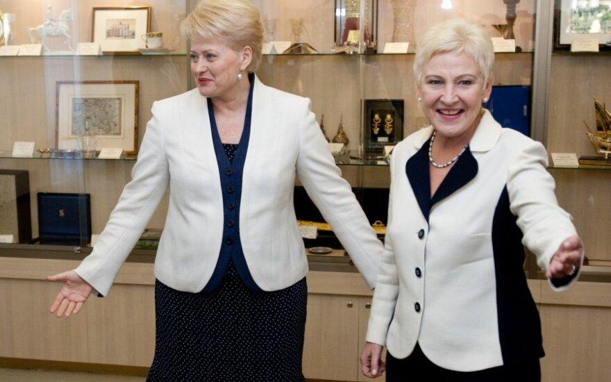 Dalia Grybauskaitė, Irena Degutienė