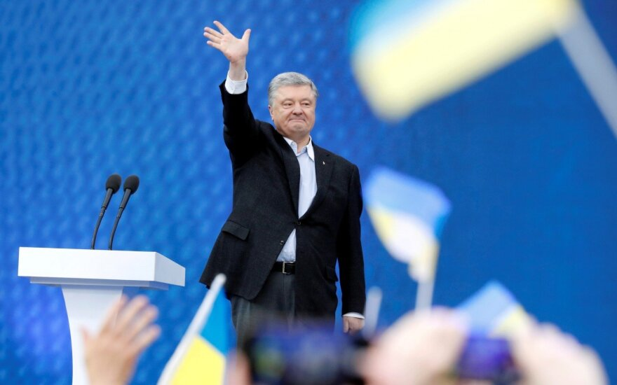 Volodymyro Zelenskio ir Petro Porošenkos debatai