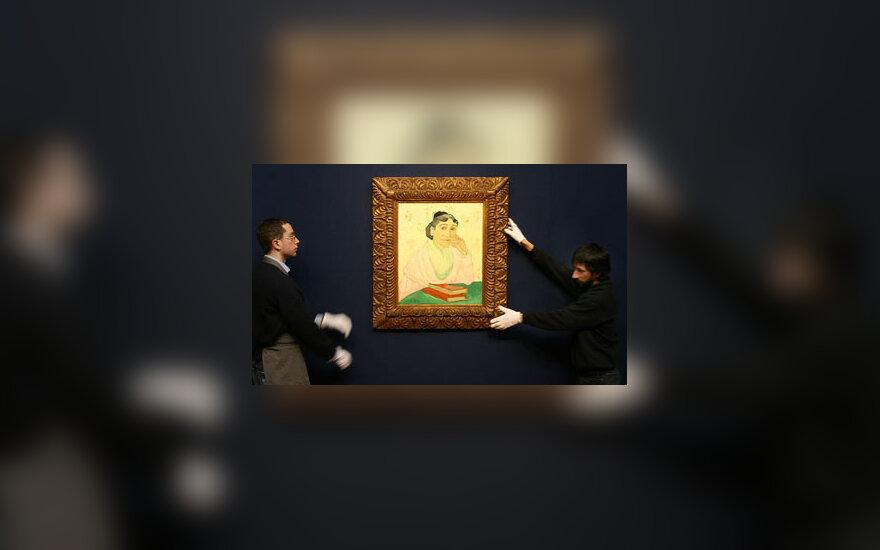 """V.Van Gogho paveikslas """"L'Arlesienne, Madame Ginoux"""""""