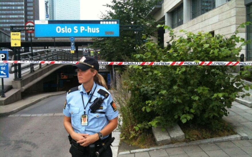 Oslo traukinių stotis iš dalies evakuota dėl įtartino krepšio