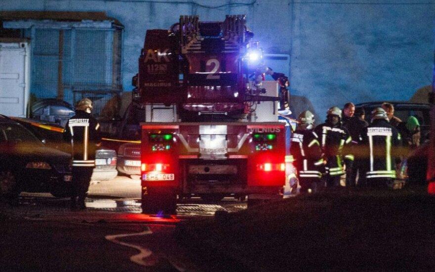 В Каунасе в многоквартирном доме взорвалась шахта мусоропровода