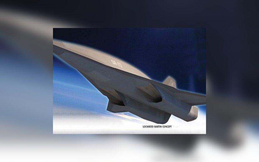В США создадут новый сверхзвуковой самолет-шпион