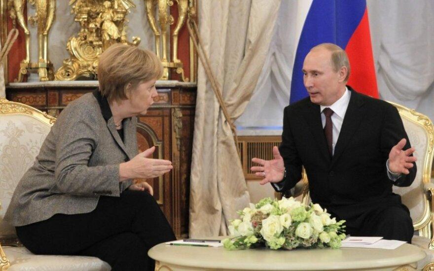 Angela Merkel: Zimna wojna się skończyła, musimy rozmawiać z Rosją