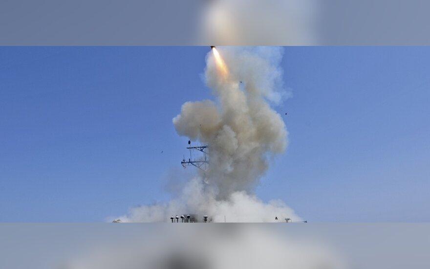 """Sparnuotosios raketos """"Tomahawk"""""""