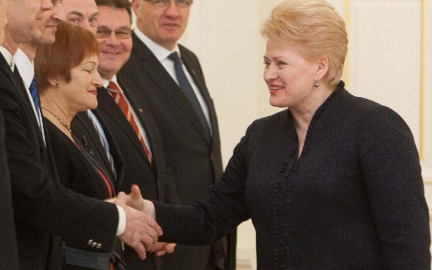 Президент освободила Весайте от должности министра экономики Литвы