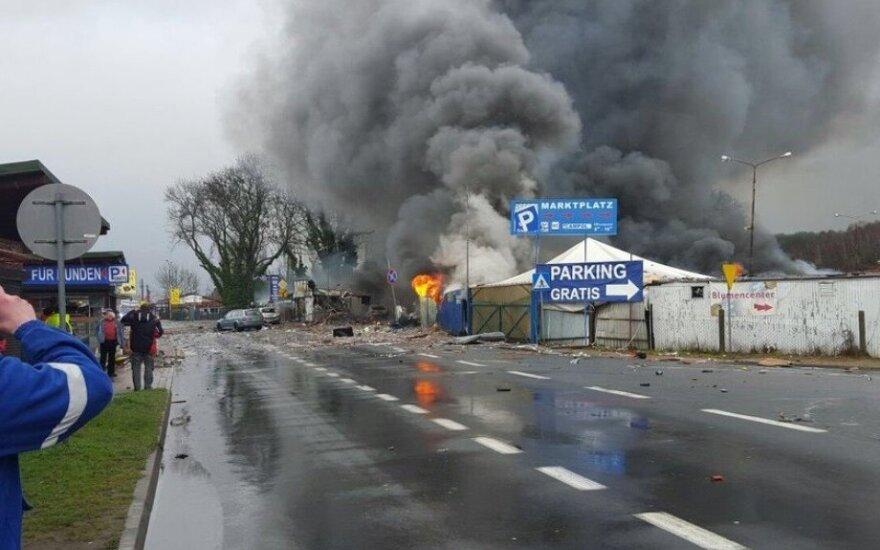 На польско-германской границе произошел мощный взрыв