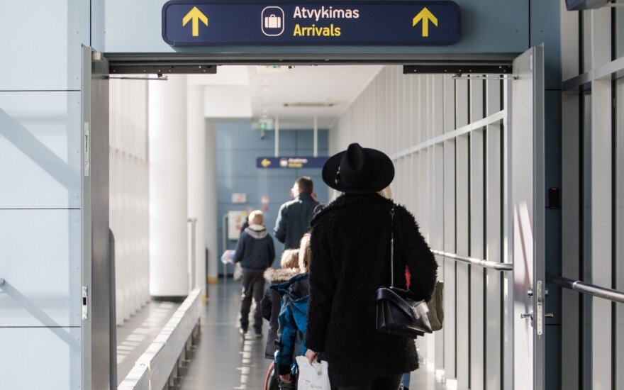В Литве в январе вновь фиксировалась положительная миграция