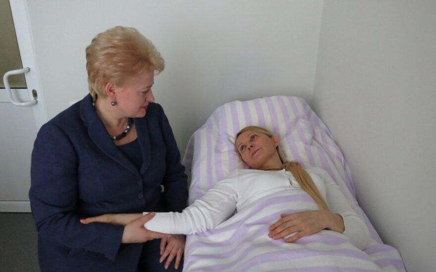 Грибаускайте понравилось настроение Тимошенко, но не условия ее содержания в больнице