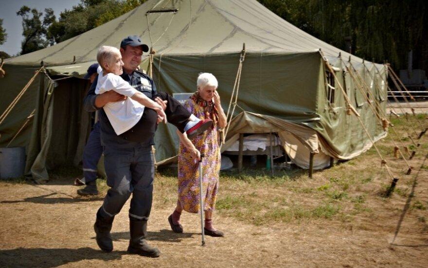 Украина: почти 300 000 переселенцев, 5 млн человек - в зоне АТО