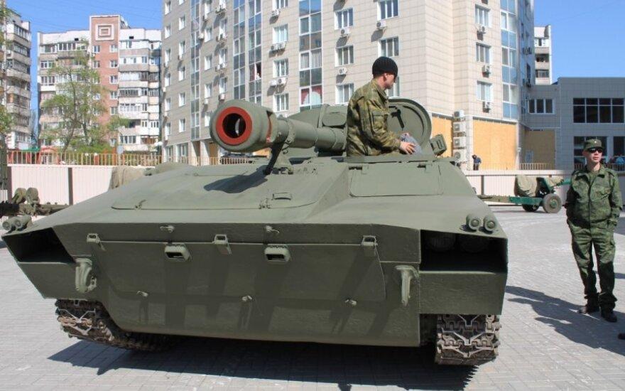 """В """"ДНР"""" продолжили соревнования по танковому биатлону после гибели ребенка"""