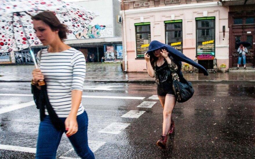 Погода в Литве в выходные дни начнет портиться