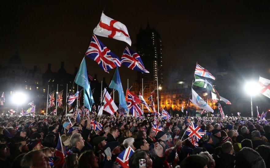 Britai mini pasitraukimą iš ES