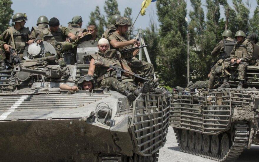 Украинским военным отправили подкрепление