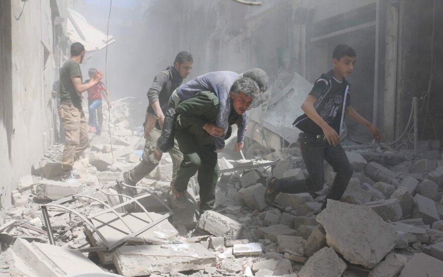 Сирийские войска ведут наступление в Алеппо