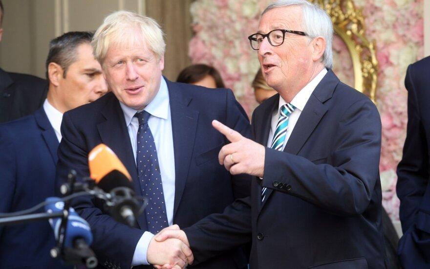 Borisas Johnsonas, Jeanas-Claude'as Junckeris