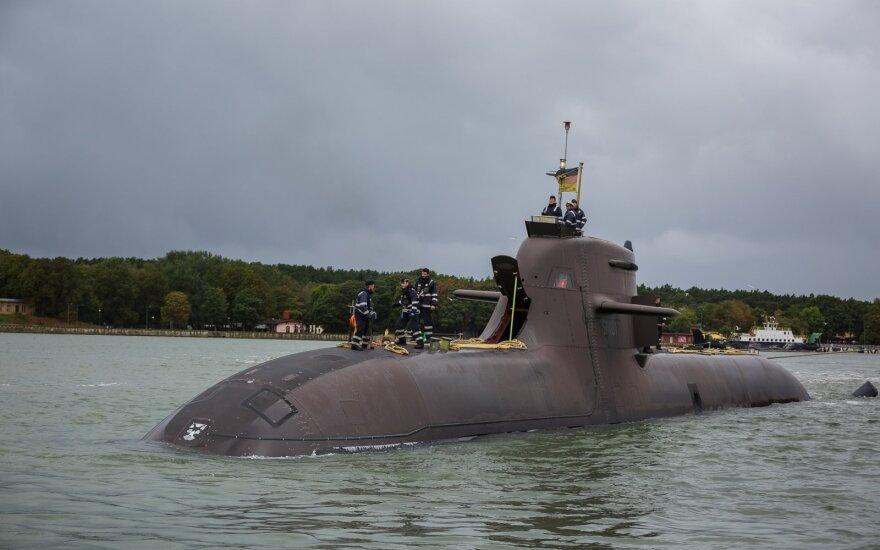В Литву зашла подводная лодка ВМС Германии