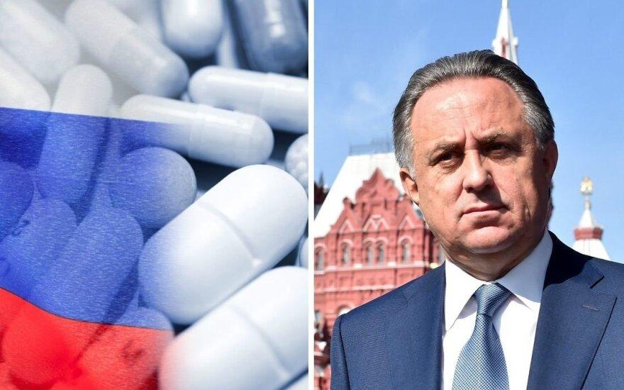 Dopingas ir Vitalijus Mutko (Vida Press nuotr.)