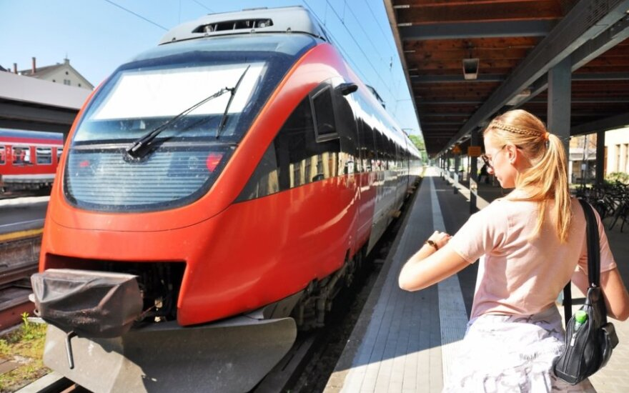 Немецкая студентка поселилась в поезде из экономии