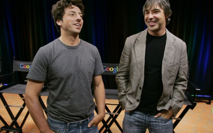 Larry Page'as, Sergejus Brinas