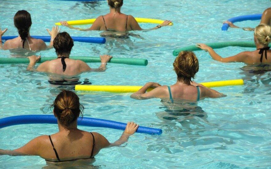 Вильнюс на 8 месяцев останется без бассейна для массового спорта