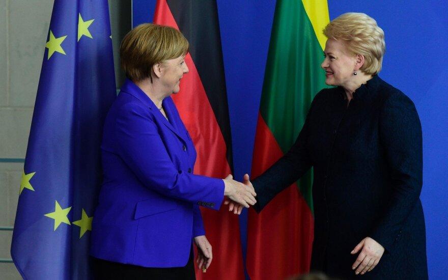 Президент Литвы занимает 72-е место в рейтинге ста самых влиятельных женщин мира