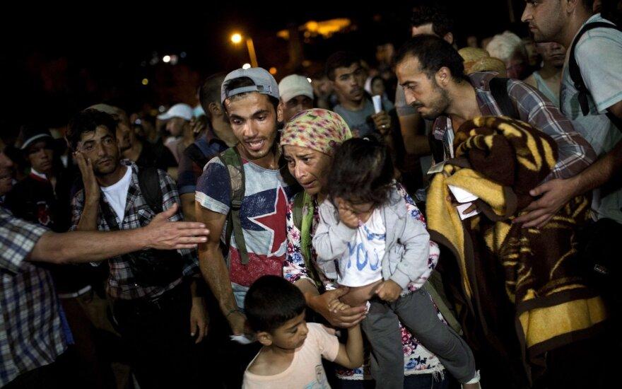 Беженцев, которые не хотят ехать в Литву, ждут санкции