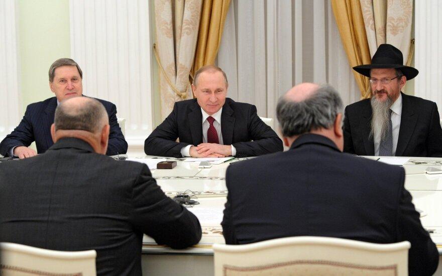 V. Putino susitikimas su Europos žydų kongreso atstovais