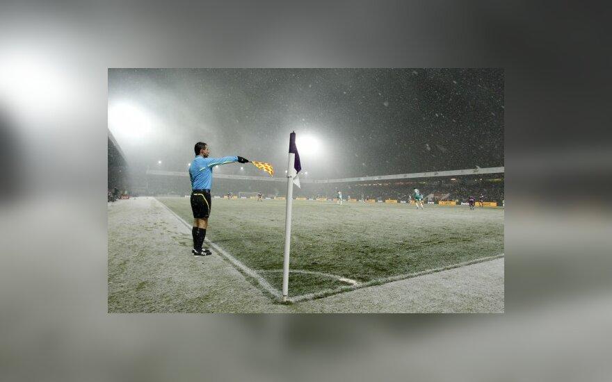 Futbolas žiemos sąlygomis