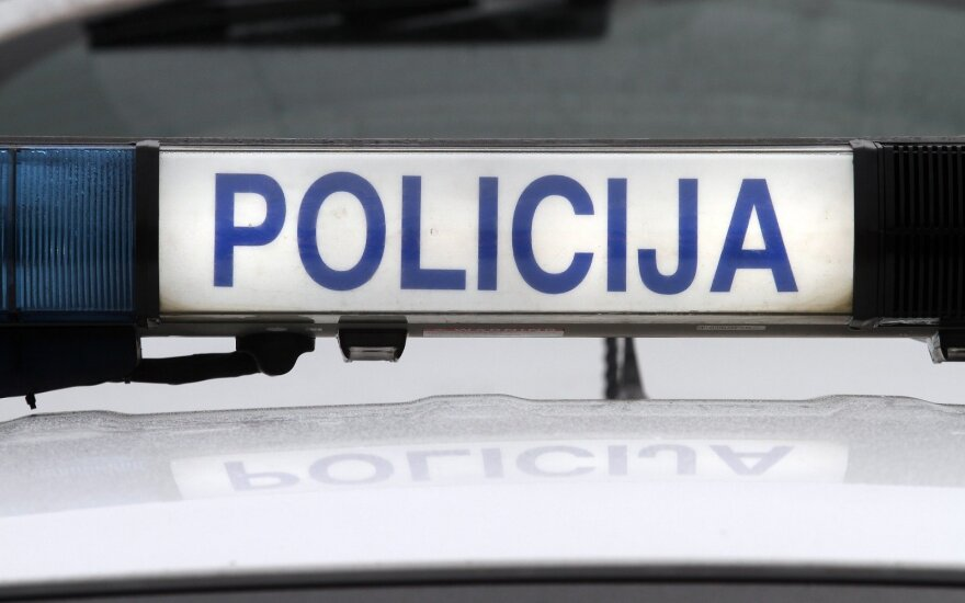 Policijos reidas Kaune