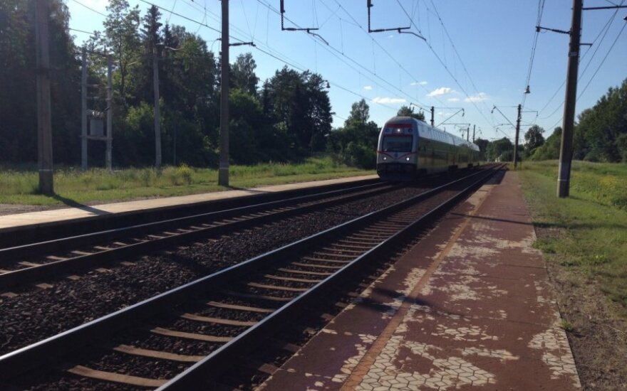 Отменяют поезд из Вильнюса в Санкт-Петербург